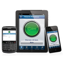 C24 offers consumers remote control security systems, interactive video, remote lighting and door lock contro