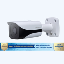 Dahua's DH-HAC-HFW2200E 2MP HDCVI IR-Bullet camera supports IR LEDs of effective range of 20 meters for poor-lighting condition