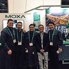 Moxa presented a fully operational unit at the show with final technical specs