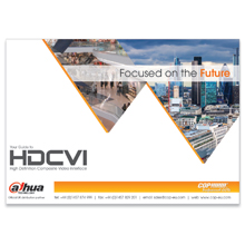 COP Security' new guide also contains Dahua HDCVI's cost and performance comparisons with analogue and IP systems