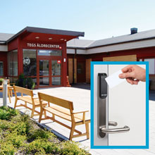 The choice for the access control system was Tidomat integrated with Aperio® wireless lock technology from ASSA ABLOY