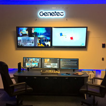 Winsted was commissioned to provide a console that would not only provide functionality for hi-tech demonstration area, but also fit space available within multi-functional room