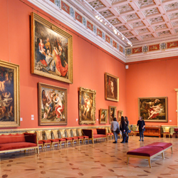 Galleries are beginning to adopt a technology that in no way compromises the safety of exhibits or visitor experience