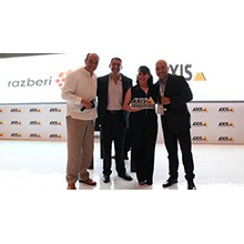 Axis Communications is one of Razberi's video management software (VMS) providers