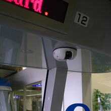 VIVOTEK MD8562 is a dome network camera geared specifically for mobile applications, such as trains, buses, and other vehicles