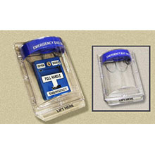 Dortronics Emergency Pull Stations can be used for emergency egress with interlock or mantrap systems