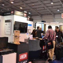 Visitors to the stand also had the opportunity to see UNION's recently launched Heavy Duty Tubular Latch for residential properties