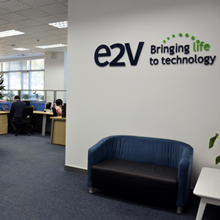 e2v's new facility also offers faster in-country service for their installed bases