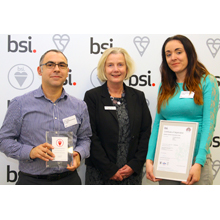 Kings Security Systems will hold the award for three years, with annual external audits being made to assess and recertify the accreditation