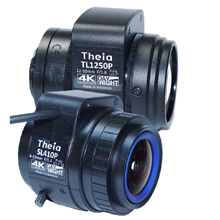 Theia's new IR-corrected lenses are extremely compact given their large format, at only 64mm long