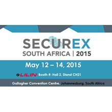 Meet team LILIN in Hall 2, Stand CH21 at SecurEx South Africa 2015