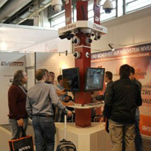 The visitors' focus of interest rested on compact cameras and network video recorders of LTVsmart series