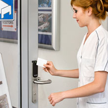 At Hospital Maria Middelares and in healthcare environments across Europe the choice is Aperio wireless technology from ASSA ABLOY
