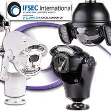 Being displayed in a variety of camera/control combinations, models on show include analogue, Infrared, HD, thermal and integrated IR & white illuminator