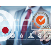 The ISO 9001 is the most internationally recognised standard for quality management systems (QMS)