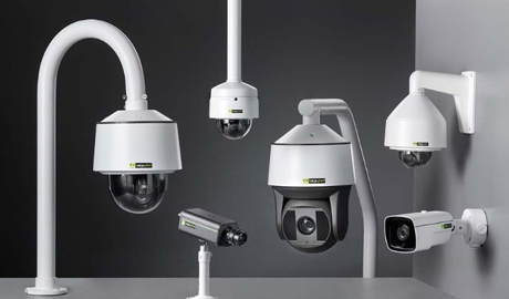 The camera series offers both indoor and outdoor domes – with or without IR capabilities