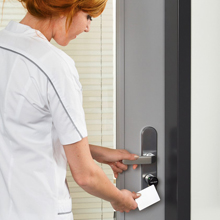 Aperio® locks and Nedap access control make it easy for facilities managers to generate audit trails for rooms holding controlled medicines or valuable hospital equipment