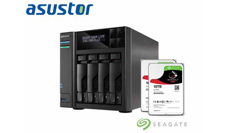 These hard disks are recommended for prosumers and enterprise users looking to create high capacity cloud storage solutions with ASUSTOR NAS