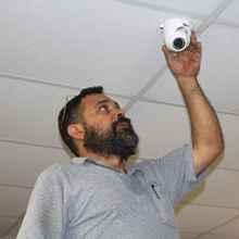 Dahua learned about the need for a video surveillance system at Upscale Resale and responded by donating a total security solution to the thrift store