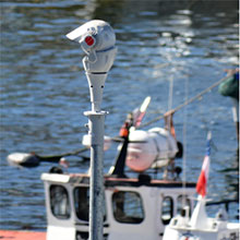 Redvision's  X-Series cameras were easily integrated into the VMS security system and helped strengthen perimeter security