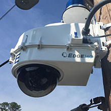 Edge360 deployed their powerful mobile Public Safety Video System, featuring next-generation surveillance technology from IDIS