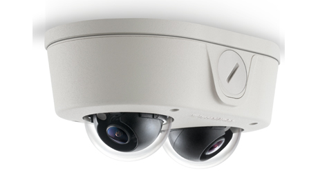 The MicroDome Duo will be popular with customers who have had to rely upon multiple single sensor or costly PTZ (pan/tilt/zoom) cameras