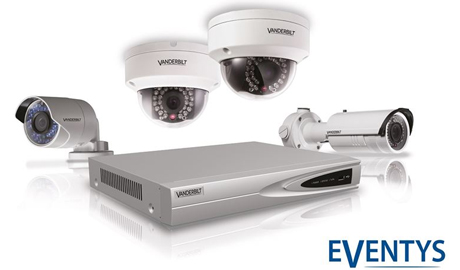 The Eventys IP cameras feature 1.3MP to 2MP resolution with both fixed and varifocal lens options