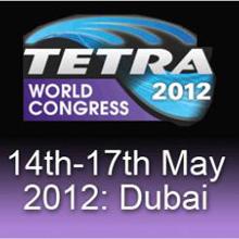 TETRA World Congress 2012 will be held in Dubai