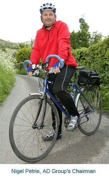 AD Group's chairman on coast-to-coast bike ride to raise funds for Gambian school