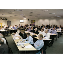 Complus Teltronic's 2007 series of intercom workshops came to a successful conclusion on Thursday 22nd November at the Western Business Centre, near Stansted.