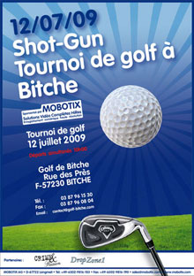 The French Federation of Golf Tournament was sponsored by MOBOTIX