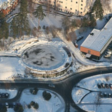 One of Sweden's biggest hospitals located near Goteborg manages security with IP video surveillance from Milestone Systems