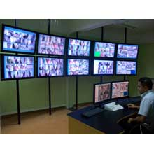 The IndigoVision network covers every single area of the prison, and gives greater coverage inside and out