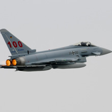 Cassidian's Eurofighter is the largest European high-tech programme and is the most modern multi-role combat aircraft
