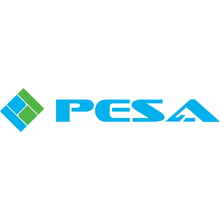 PESA is committed to building brand recognition outside the U.S.