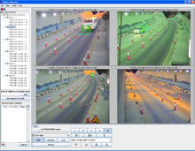 The VSD utilised by FireVu at Palm Jumeirah works by using CCTV images, in real time, from a number of cameras simultaneously that are then analysed by specialised image processing software