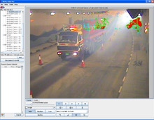 Alarm and associated video images can be relayed back to a central control room and can be reviewed using NetVu ObserVer video management software