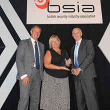 BSIA acknowledged Pyronix's chief executive Julie, during its annual luncheon held at the London Hilton
