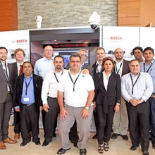 Bosch demonstrated its range of HD cameras to architects and engineers, as well as to key influencers from the IT industry