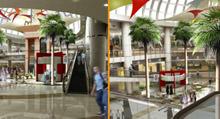 Interior of Bawadi Mall at Al Ain, United Arab Emirates