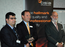 The BSIA's Chairman's Awards recognise outstanding contributions to the work of the British security industry