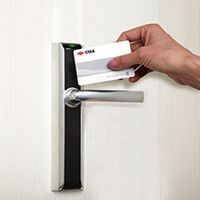 CISA eSIGNO Outdoor Electronic Cylinder offers quick and easy solution to upgrade from mechanically operated locks to electronic access control