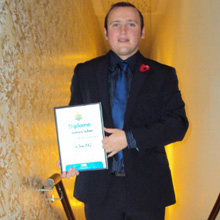 Andy manages SALTO's access control operations in Scotland, developing new business