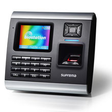Suprema's BioStation is a top-of-the-range biometric access controller