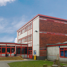 Mul-T-Lock SMARTair wall readers have been fitted externally to secure the perimeter of the school whilst internal office doors