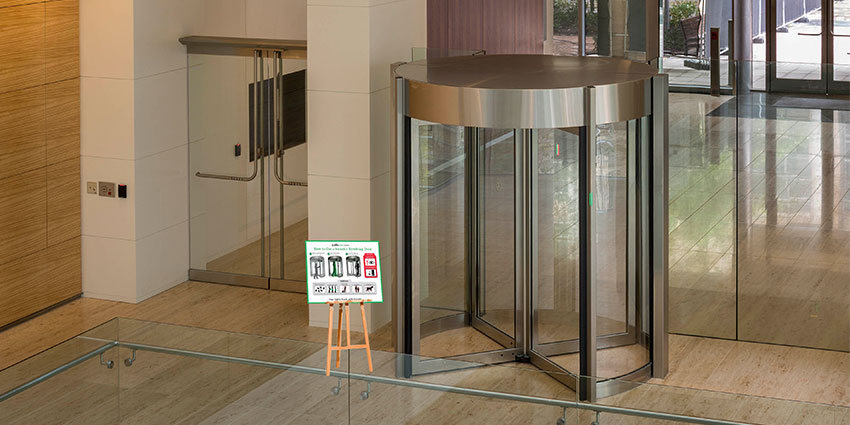 security signage to help companies with new security measures