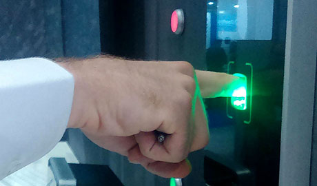 Touchless 3D Biometrics