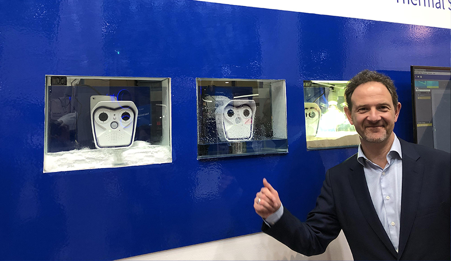 MOBOTIX demonstrates its outdoor surveillance products at Intersec 2018