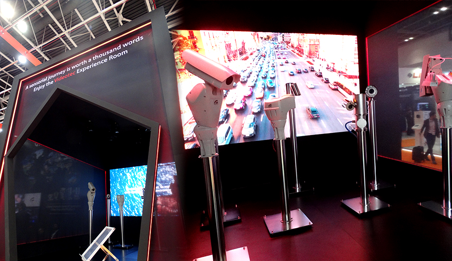 Videotec demonstrated is rugged outdoor surveillance solutions at Intersec 2018