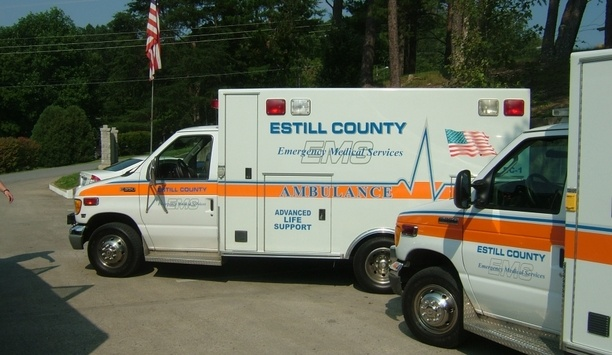 3xLOGIC infinias Access Control deployed at Estill County Emergency Medical Services